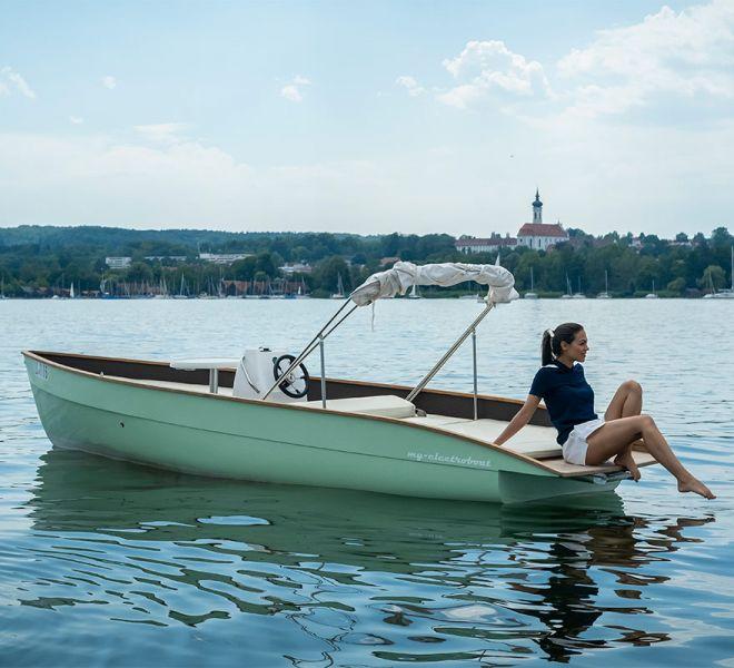 My-Junior Elektroboot zum Entspanne und Genießen