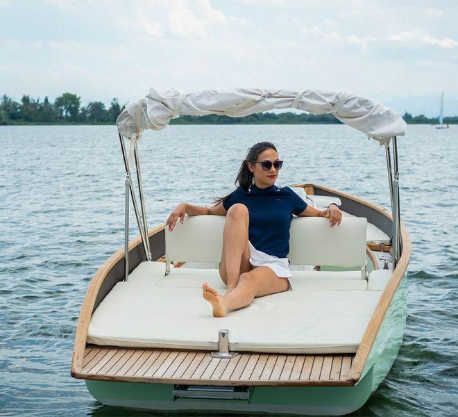 My-Junior ein modernes Elektroboot
