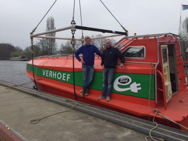 Fallrettungsboot My-Electroboat Torqeedo