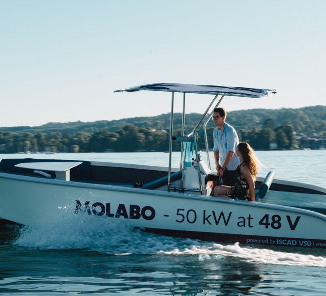 My-Elégance Elektrospeedboot für Wasserski