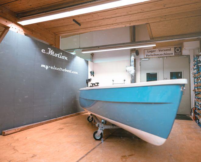 My-Tramonto Solarengergie Elektroboot