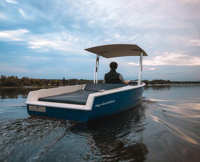 My-Tramonto Solarboot mit Energiespeicher