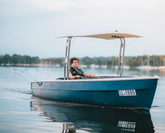 My-Tramonto Elektroboot sinksicher