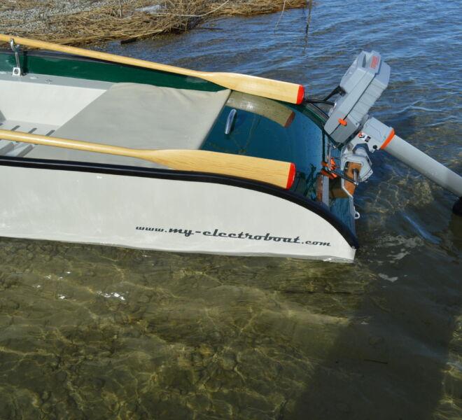 Ein Elektroboot mit bester Verarbeitung und Qualität