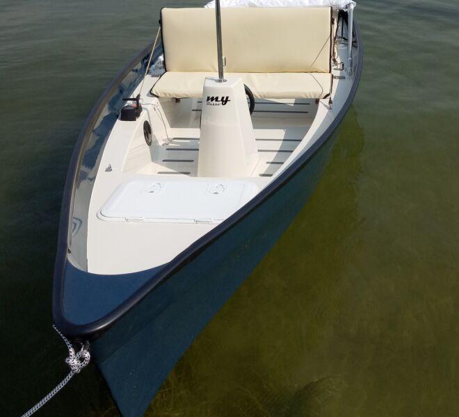Kompaktes Elektroboot zum Entspannen
